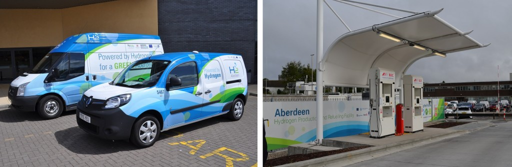 Aberdeen H2 vehicles and bus fuelling station_web